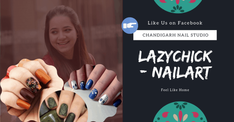 Lazychick - Nailart