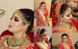 Bridal makeup in Chandigarh