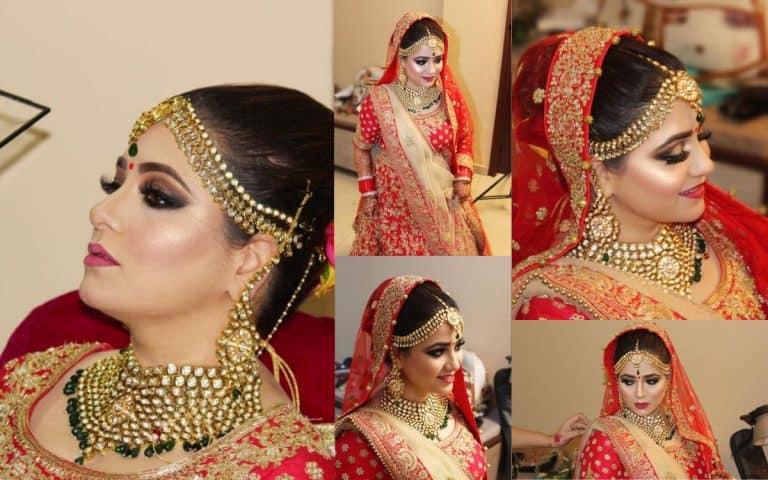 Bridal makeup in Chandigarh